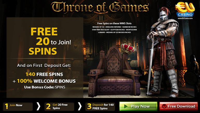 عرش الألعاب Throne of Games – أكبر عروض العاب ماكينات سلوتس التي يتحدث عنها الجميع