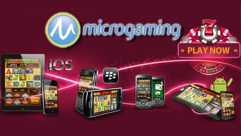( الميكرو-غيمنغ Microgaming  ) تطلق لعبتا موبايل جديدتان